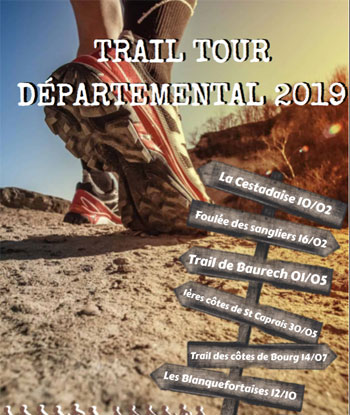 Trail tour departemental 2019