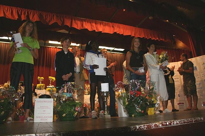 Le podium femme
